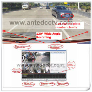 High Quality HD 1080P 3G/4G WiFi 4 Channel Mini SD Card in Car DVR with GPS Tracking pictures & photos