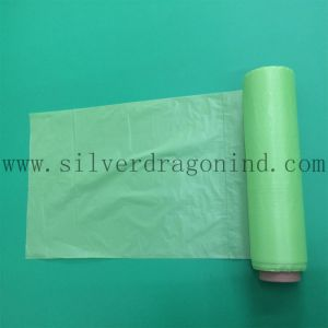 Single Color Bio-Based Trash Bag for Kitchen Rubbish Use pictures & photos