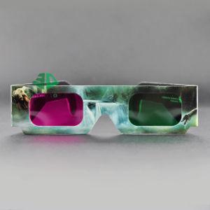 Paper Green Magenta 3D Glasses (SN3D 032)