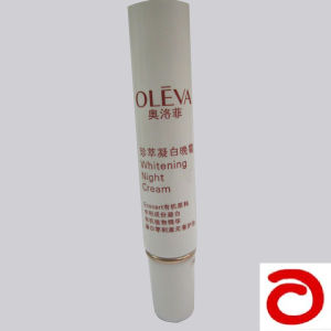Cosmetic Tube for Packaging 15ml Whitening Night Cream with Double Layer Cap pictures & photos