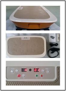 Zq-C9007 Power Fit Shake Massager Vibration Plate with CE Certification pictures & photos
