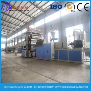 PVC Lmitation Marble Sheet Production Line/PVC Artificial Marble Sheet Production Line pictures & photos