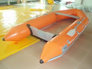 Aluminum Floor Inflatable Life Boat/ Military Rescue Boats/ Inflatable Life Raft with Ce Certificate pictures & photos