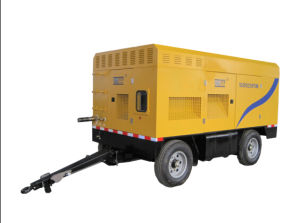 Diesel Engine Portable/Mobile Screw Air Compressor (SCR920PD) pictures & photos