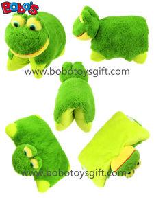 38cm Soft Plush Frog Pet Pillow Stuffed Cushion pictures & photos