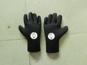 5mm Full Finger Neoprene Diving Gloves, Double-Lined Neoprene Gloves pictures & photos