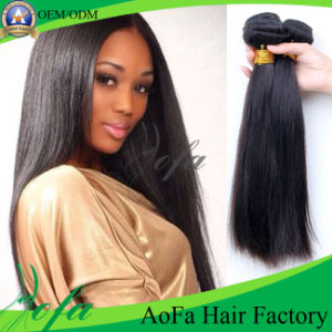 Straight Human Hair Unprocessed Brazilian Human Virgin Hair pictures & photos