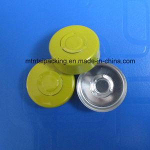 20mm Yellow Color Glass Bottle Cap/Aluminum Cap for Pharmaceutical pictures & photos