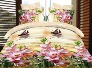 Romantic Rose, Love Heart & Ocean 3D Bedding Set pictures & photos
