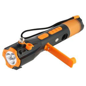 9 in 1 Car Emergency Torch Radio with Glass Hammer (XLN-703)