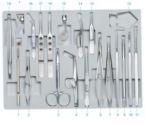 Ophthalmic Operation Instruments Set (SZY-CBM19) pictures & photos
