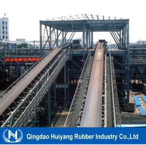 Cement Conveyor Belt Flame Resistant PVC Conveyor Belt pictures & photos