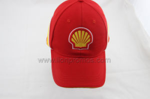 Shell Logo Embroidery Staff Cotton Baseball Cap pictures & photos