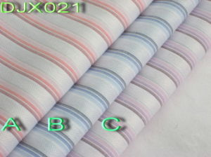 Cotton Dobby Yarn Dyed Fabric Shirting Djx021 pictures & photos