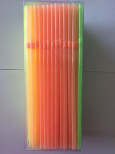 Plastic Drinking Straw, Neon Flexible Straw pictures & photos