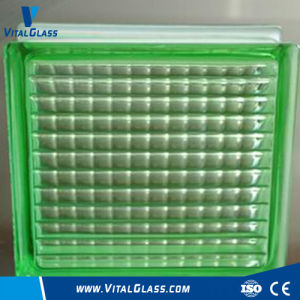 Toughened Safety Green Parallel Glass Block (G-B) pictures & photos