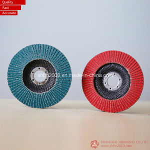 125*22 Mm Vsm Zirconia & Ceramic Abrasive Flap Disk pictures & photos