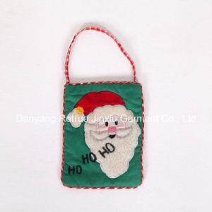 Cute Kids Handmade Embroidery Decorative Christmas Carry Bag