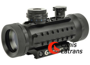 1X42 RGB Illumination Red DOT Scope with Rails, Cl2-0009 pictures & photos