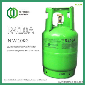 Guomao Refrigerant R410A in Refillable Cylinder pictures & photos