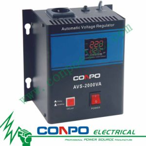 AVS-500va/1000va/1500va/2000va/3000va/5000va/8000va/10000va (Wall-mounted) Relay-Type Automatic Voltage Regulator/Stabilizer pictures & photos