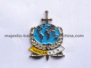 Soft Enamel & Zinc Die Cast & Plating Gold Process Lapel Pin pictures & photos