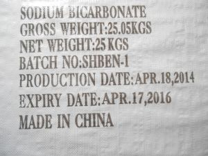 Hot Sale of Sodium Bicarbonate Food Grade pictures & photos
