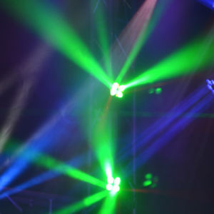 Compact Mini High Speed Pixel Beam LED Stage Moving Head Light pictures & photos