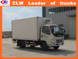 Foton 4*2 Small Refrigerated Trucks 20ft Refrigerator Container pictures & photos