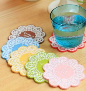 Silicone Cup Mat with Negative Ions in High Quality pictures & photos