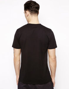 100% Cotton Men′s Short Sleeve Tee Shirt Printing Design pictures & photos