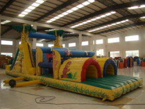 Custom Durable Fun Inflatables Obstacle Course Games for Kids (OC-024)