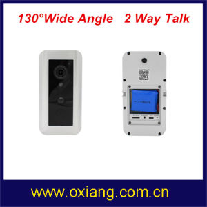 Smart Home Security WiFi Video Doorbell Camera Built in 3000mAh Battery pictures & photos