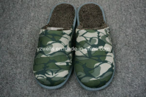 Man Slippers/Footwear/Casual Shoes/Camo Fabric Slippers