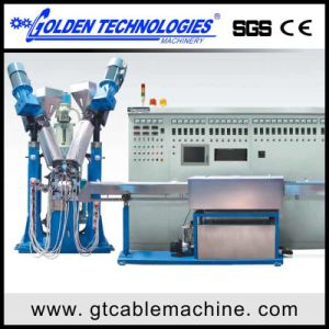 Physical Foam Wire Extrusion Machine Line pictures & photos