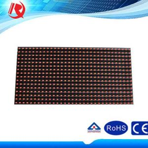 P10 Pixel 10mm Red LED Sign Outdoor LED Display pictures & photos