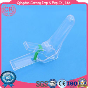 Gynecological Products Pull&Push Type Sterile Disposable Plastic Vaginal Speculum pictures & photos