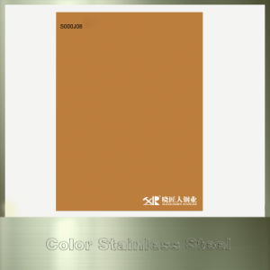 Foshan Hot Sale 201 Color Hairline Color-Coated Sheet for Wall Panel pictures & photos