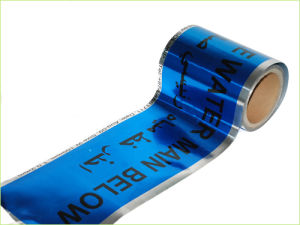 Underground Detectable Tape for Warning Water Line pictures & photos