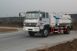 Sinotruk HOWO Brand Sewer Cleaner, Garbage Truck, Suction Sewage Truck with 4X2 Driving