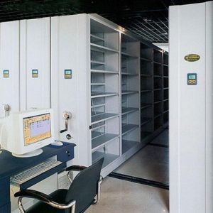 Archival Shelf Office Smart System Mobile Metal Shelving/Book Shelf/Library Bookshelf pictures & photos