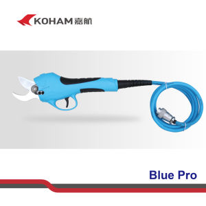 Koham Tools Bypass Pruning Shears FCC Certificated Apple Trees Lithium Battery Trimming Loppers Scissors Bypass Pruners Powered Electrical Handheld Secateurs pictures & photos