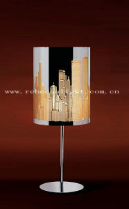 Contemporary Stainless Steel Table Lamp for Laser-Cut pictures & photos