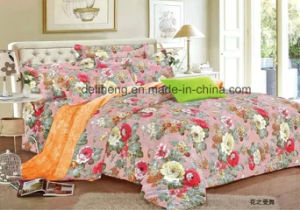 Soft Handfeeling 100% Cotton Printed Wholesale Bed Sheet Fabric pictures & photos
