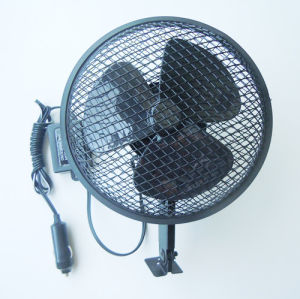 6′′full Safety Mesh Metal Car Fan with Spray Plastic (WIN-107) pictures & photos