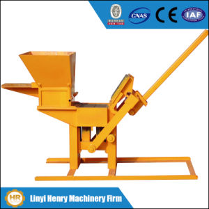 Qmr2-40 Lego Maunal Clay Soil Interlocking Block Making Machine Price pictures & photos
