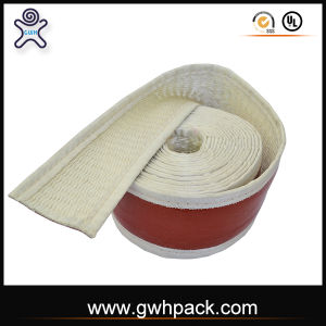 Red Silicone Rubber Fiberglass Heatproof Tape for Steel Wires pictures & photos