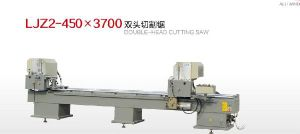 Top Quality Aluminum Window Double-Head Cutting Saw pictures & photos