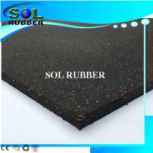 Ce Certificated Heavy Duty Gym Rubber Flooring pictures & photos