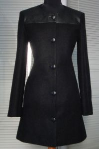 Wholesale OEM Latest Design Knee Length Women Coat pictures & photos